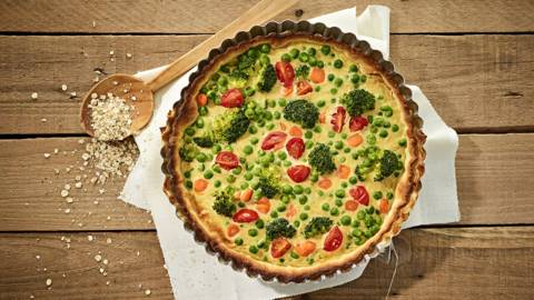 Receita Vegetariana - Tarte