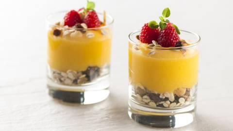 Receita Sem Lactose - Trifle de Frutos Vermelhos