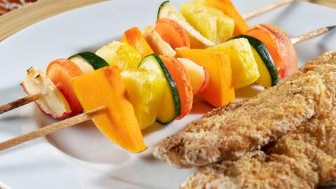 Receita Bio | Filetes de pescada panados saudáveis