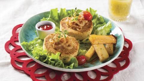 Receita Vegan - Hambúrgueres de Grão
