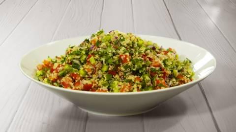 Receita Keto - Tabulé de Quinoa | Cooking Classes