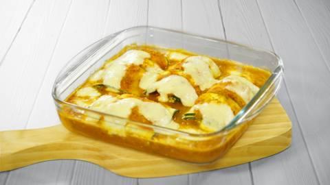 Receita Vegetariana - Canelones de Courgette com Requeijão | Cooking Classes