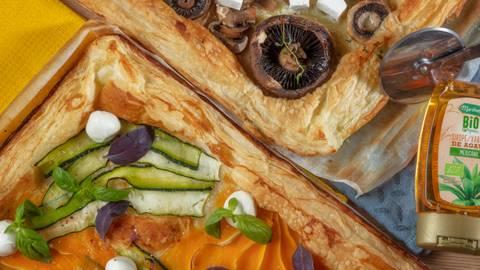 Receita Vegetariana - Duo de Tartes Folhadas | Cooking Classes
