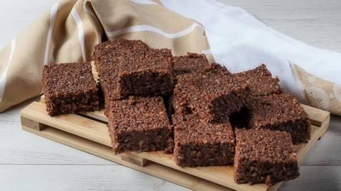 Receita Monsieur Cuisine - Quadrados de Quinoa e Chocolate | Cooking Classes