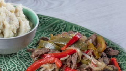 Receita Monsieur Cuisine - Carne Estufada e Puré de Couve-Flor | Cooking Classes