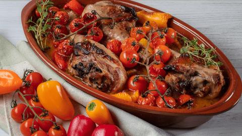 Receita Low Carb - Perna de Perú no Forno | Cooking Classes