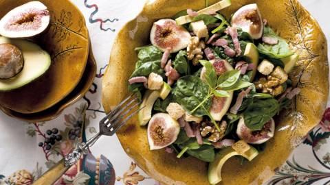 Salada Crocante de Espinafres