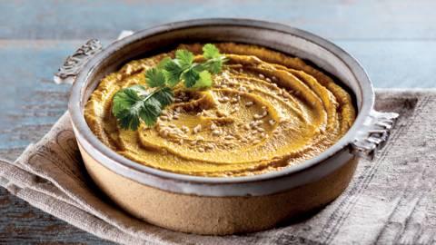 Receita Vegan - Dip de Cenoura, Caju e Laranja