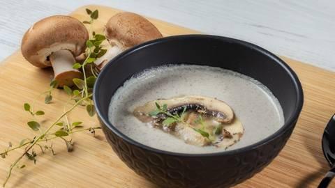 Receita Monsieur Cuisine - Creme de Cogumelos | Cooking Classes