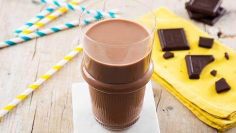 Receita Vegetariana - Leite com Chocolate