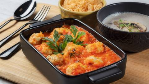 Receita Monsieur Cuisine - Almôndegas de Frango | Cooking Classes