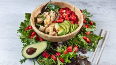 Receita Bio - Bowl de Quinoa e Tofu Marinado | Cooking Classes