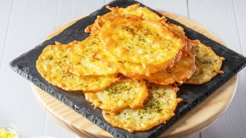 Receita Keto - Chips de queijo | Cooking Classes