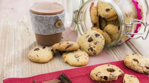Cookies dois chocolates