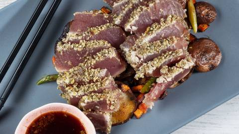 Receita Tataki de Atum | Cooking Classes