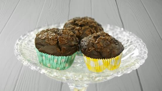 Receita Vegan - Muffins de chocolate | Cooking Classes