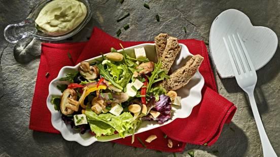 Receita Vegetariana - Salada de São Valentim