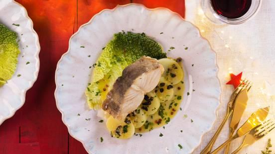 Receita Monsieur Cuisine - Bacalhau ao Vapor com Molho de Limão