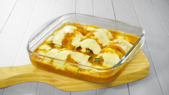 Receita Vegetariana - Canelones de Courgette com Requeijão | Cooking Classes