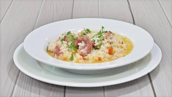 Receita Arroz de Polvo | Cooking Classes