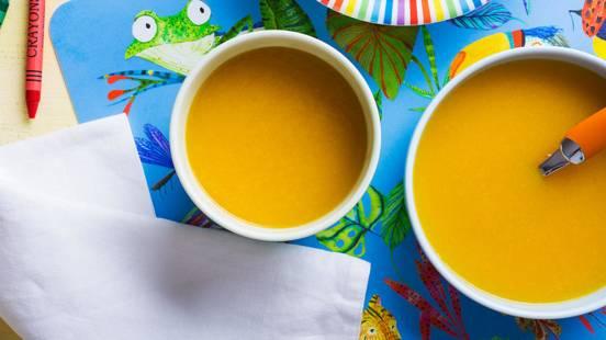 Receita Bebé e Criança - Creme Colorido de Legumes