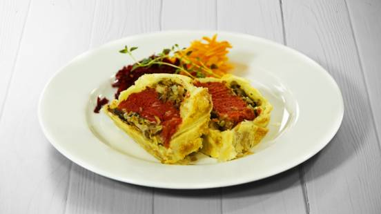 Receita Vegetariana - Wellington Vegetariano | Cooking Classes