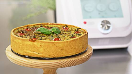 Receita Vegetariana - Quiche de Espinafres | Cooking Classes
