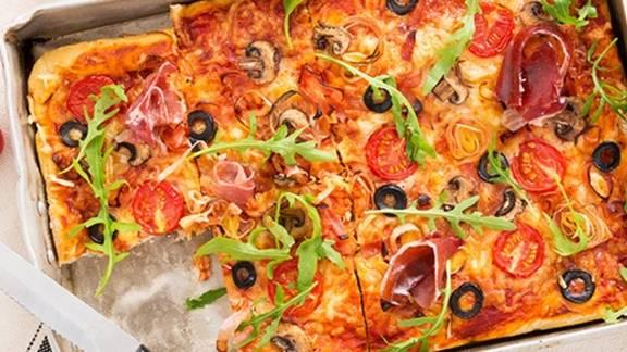 Receita Proteica - Pizza Saudável