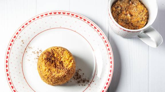 Receita Keto - Bolo de Cenoura na Caneca | Cooking Classes