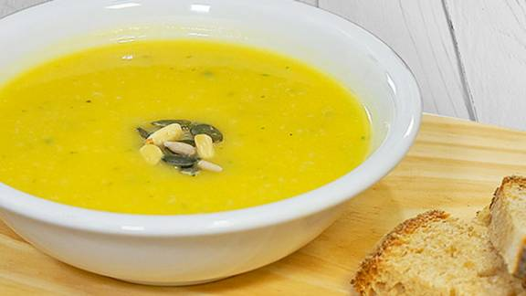 Receita Monsieur Cuisine - Sopa de Abóbora e Gengibre | Cooking Classes