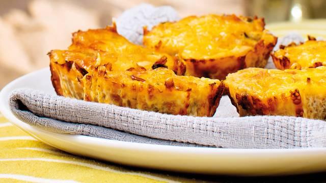 Muffins de Cenoura e Curgete
