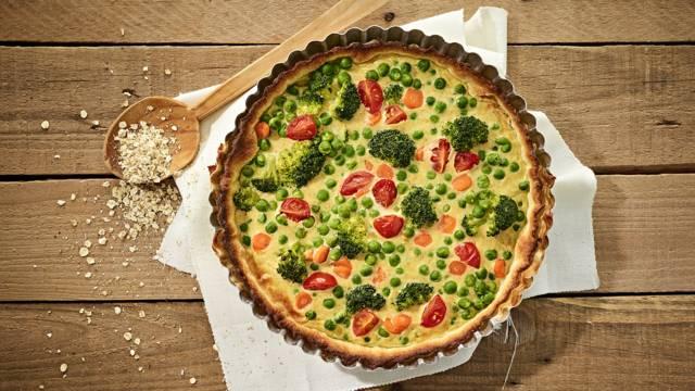 Receita Vegetariana - Tarte Vegetariana