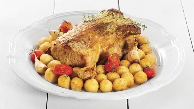 Receita Sem Glúten - Lombo de Porco com Mostarda e Batatinhas