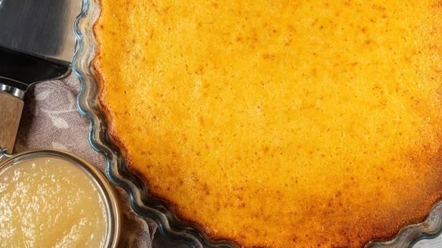 Receita Tarte de Requeijão com Doce de Pêra   Cooking Classes