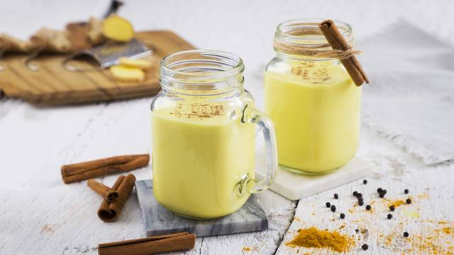 Receita Vegan - Golden Milk