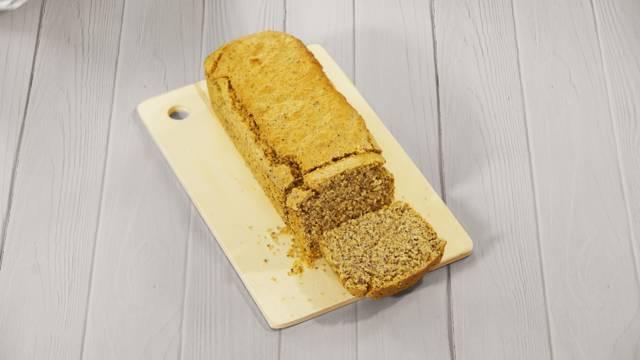 Pão de Amêndoa e Aveia