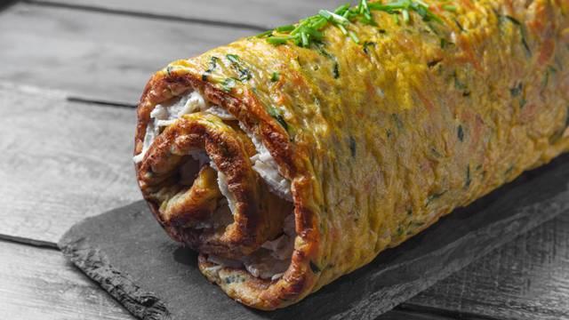 Receita Paleo - Torta de Curgete e Cenoura Recheada com Frango | Cooking Classes