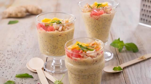 Receita Vegetatiana - Pudim de Laranja e Chia | Cooking Classes