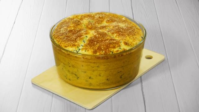 Receita Vegetariana - Souflé de Espinafres | Cooking Classes