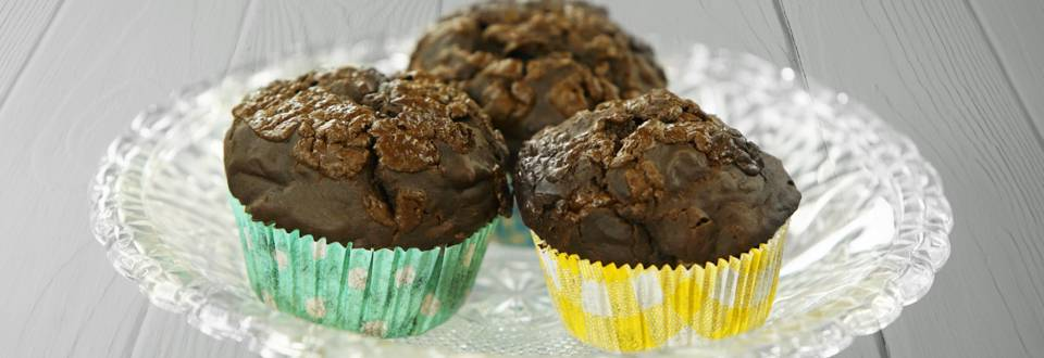 Receita Vegan - Muffins de chocolate | Cooking Classes