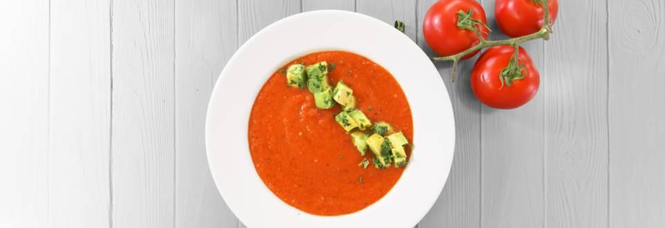Receita Vegan - Sopa Fria de Tomate e Pimento Assado | Cooking Classes
