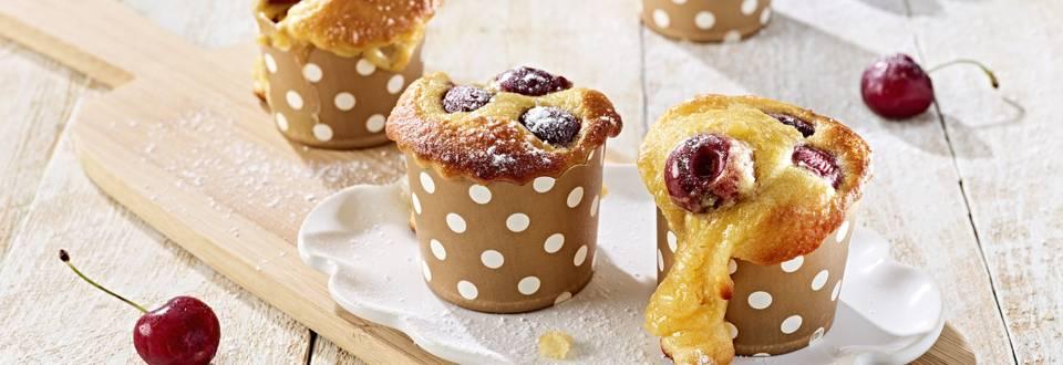 Muffins de cereja