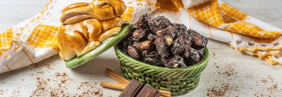 Especial Páscoa - Receita Amêndoas de Chocolate | Cooking Classes