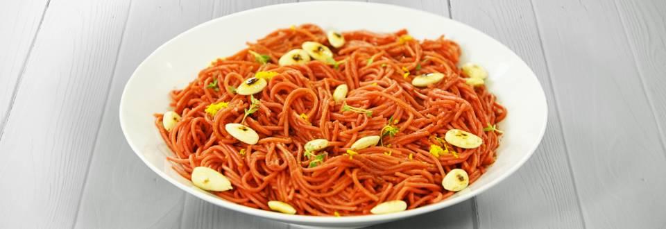 Receita Vegan - Esparguete de Beterraba | Cooking Classes