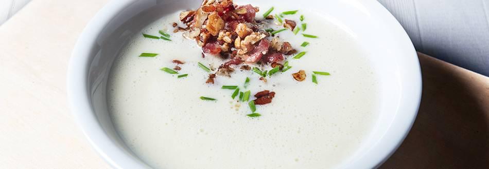 Receita Keto - Creme de Couve-Flor | Cooking Classes