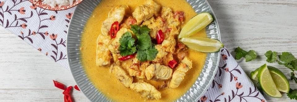 Receita de Maruca com leite de coco e caril | Cooking Classes