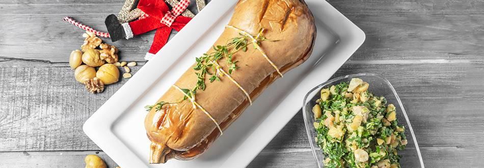 Especial Natal - Receita de Abóbora Recheada | Cooking Classes