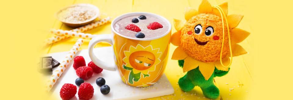 Receita Bebé e Criança - Bia | Batido de Iogurte e Frutos Vermelhos
