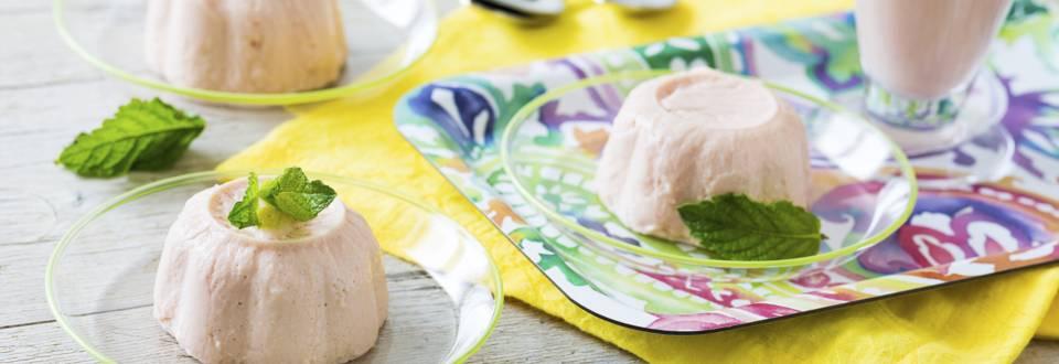 Receita Vegetariana - Flan Frio de Goiaba