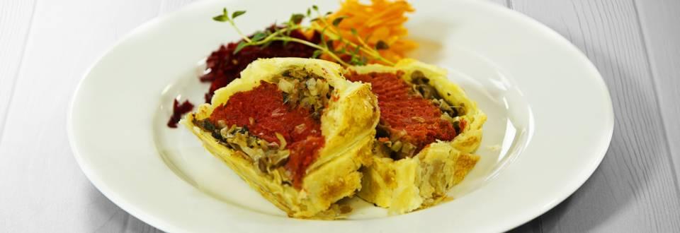 Receita Vegetariana - Wellington Vegetariano | Cooking Classes